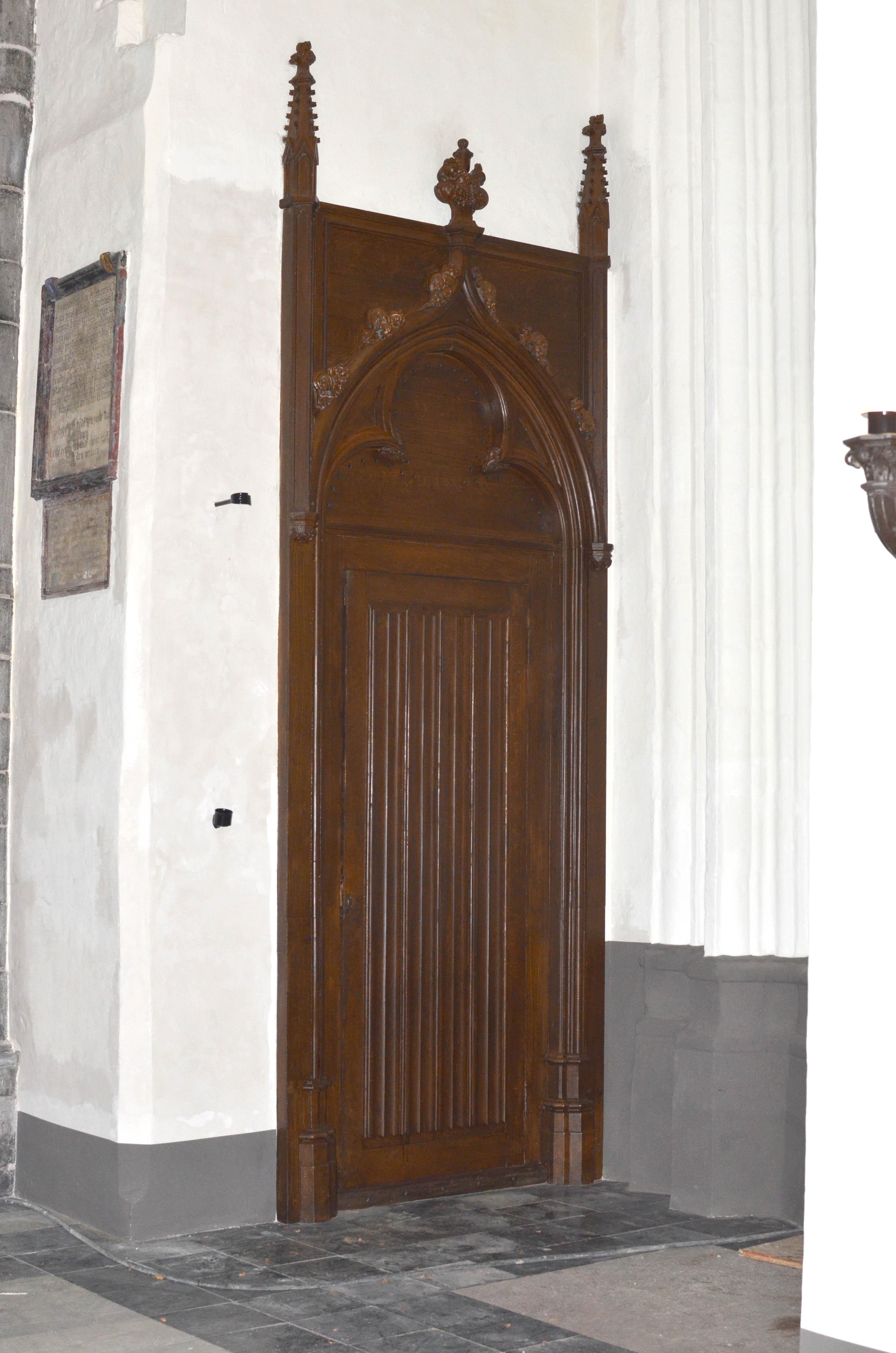 Oplevering-deur
