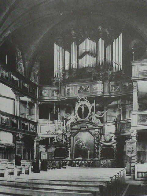 Katharinenkirche, Frankfurt, 1900.