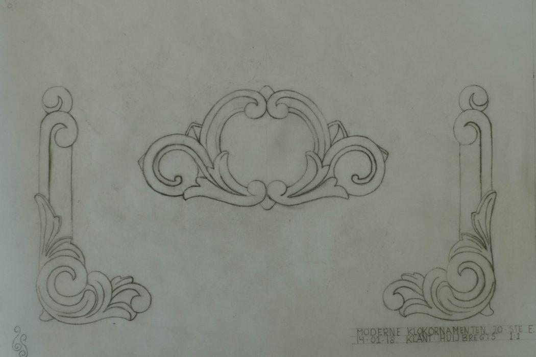 ornamenten tekening
